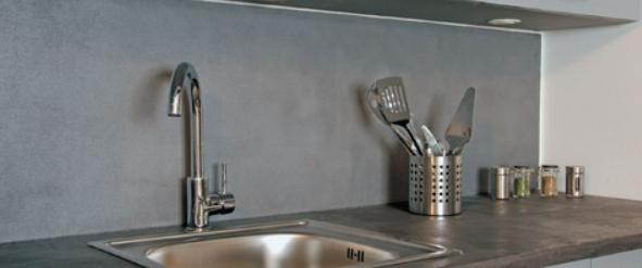 Fugenlose designer spachtelmasse beton mineral resinence for Enduit beton mineral
