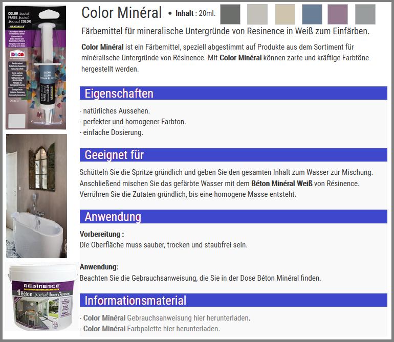 epoxidharz versieglung auf wasserbasis f r mineral beton infabe. Black Bedroom Furniture Sets. Home Design Ideas
