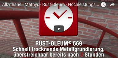 Youtube-Video-Alkythane-Rostschutz-Metallfarbe-Mathys-Rust-Oleum