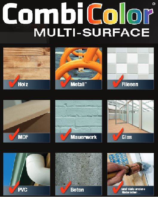 CombiColor Multi Surface Mathys Rust Oleum Produktdaten Eigenschaften ...